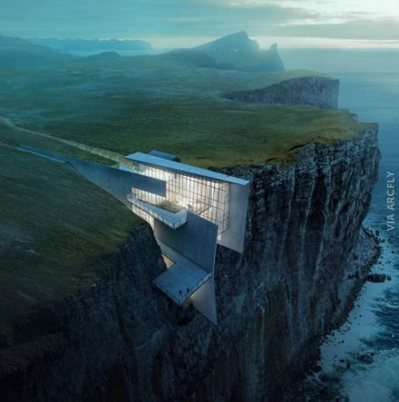 Cliff House Architecture Design and Concept 47
