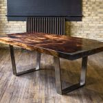 Awesome Resin Wood Table Project 26