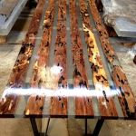 Awesome Resin Wood Table Project 3