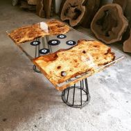 Awesome Resin Wood Table Project 58