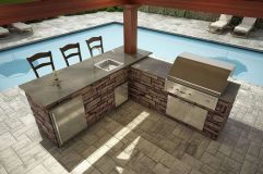Awesome Yard and Outdoor Kitchen Design Ideas 14