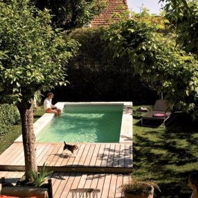 Awesome Small Pool Design for Home Backyard 14