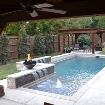 Awesome Small Pool Design for Home Backyard 34