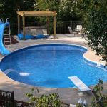 Awesome Small Pool Design for Home Backyard 4