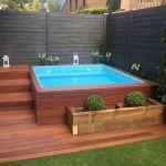 Awesome Small Pool Design for Home Backyard 65