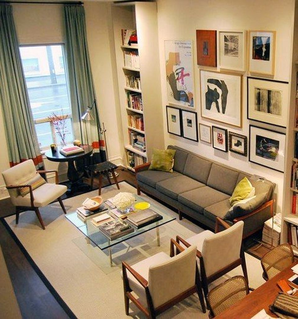 12 Awesome Living Room Designs: Awesome Tall Curtains Ideas For Living Room 23