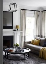 Awesome Tall Curtains Ideas for Living Room 43