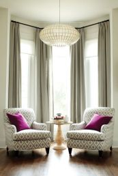 Awesome Tall Curtains Ideas for Living Room 49
