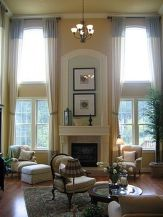 Awesome Tall Curtains Ideas for Living Room 6