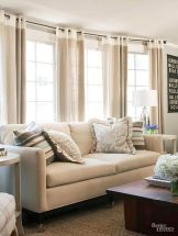 Awesome Tall Curtains Ideas for Living Room 60