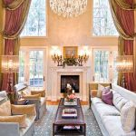 Awesome Tall Curtains Ideas for Living Room 7