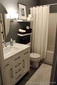 70 Brilliant Ideas for Small Bathroom Hacks and Organization 17