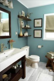 70 Brilliant Ideas for Small Bathroom Hacks and Organization 63