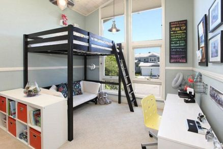 Awesome Cool Loft Bed Design Ideas and Inspirations 14
