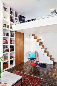 Awesome Cool Loft Bed Design Ideas and Inspirations 16