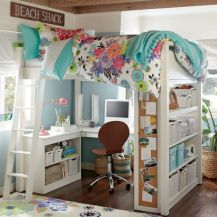 Awesome Cool Loft Bed Design Ideas and Inspirations 23