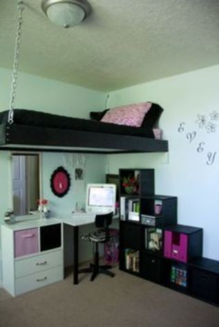 Awesome Cool Loft Bed Design Ideas and Inspirations 43