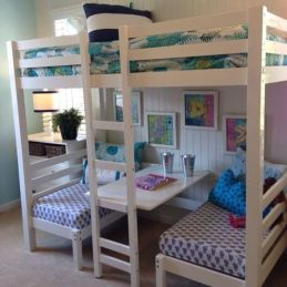 Awesome Cool Loft Bed Design Ideas and Inspirations 54