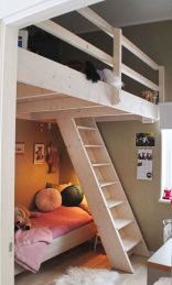 Awesome Cool Loft Bed Design Ideas and Inspirations 56