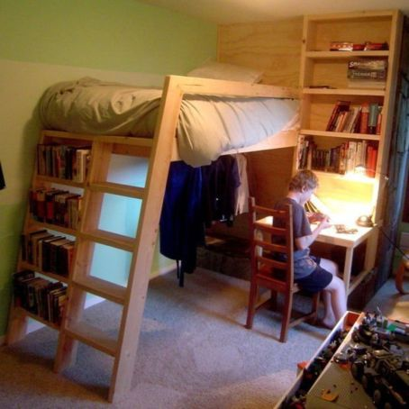 Awesome Cool Loft Bed Design Ideas and Inspirations 60