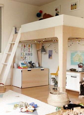 Awesome Cool Loft Bed Design Ideas and Inspirations 79