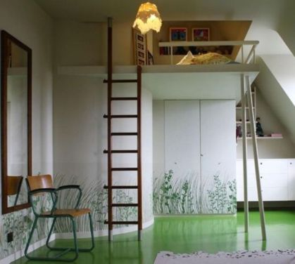 Awesome Cool Loft Bed Design Ideas and Inspirations 90