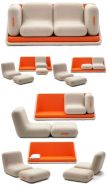 Cool Modular and Convertible Sofa Design for Small Living Room 23