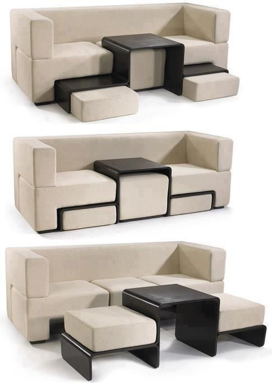 Cool Modular and Convertible Sofa Design for Small Living Room 29 ...