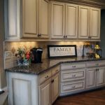 Elegant Kitchen Light Cabinets with Dark Countertops 13