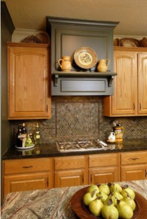 Elegant Kitchen Light Cabinets with Dark Countertops 27