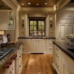 Elegant Kitchen Light Cabinets with Dark Countertops 28