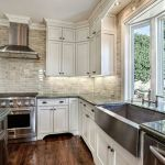 Elegant Kitchen Light Cabinets with Dark Countertops 73