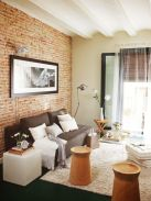 Fascinating Exposed Brick Wall for Living Room 10