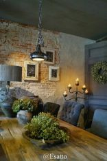 Fascinating Exposed Brick Wall for Living Room 20