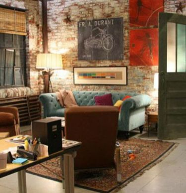 Fascinating Exposed Brick Wall for Living Room 32