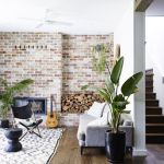 Fascinating Exposed Brick Wall for Living Room 46