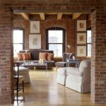 Fascinating Exposed Brick Wall for Living Room 54