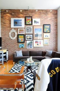 Fascinating Exposed Brick Wall for Living Room 7