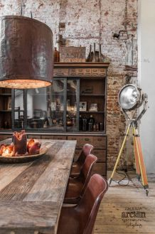 Fascinating Industrial Floor Lamp for Home Decorations 2