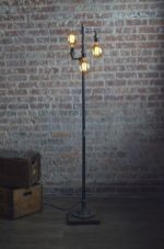 Fascinating Industrial Floor Lamp for Home Decorations 51