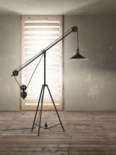 Fascinating Industrial Floor Lamp for Home Decorations 79