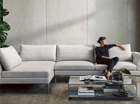 Modular and Convertible Sofa Design for Small Living Room