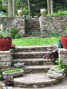 That is How to Make Garden Steps on a Slope 13