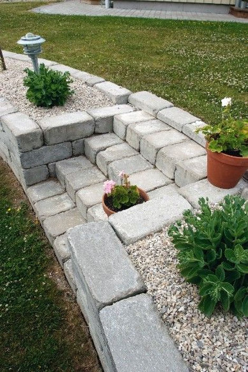 That is How to Make Garden Steps on a Slope 2