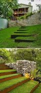 That is How to Make Garden Steps on a Slope 45