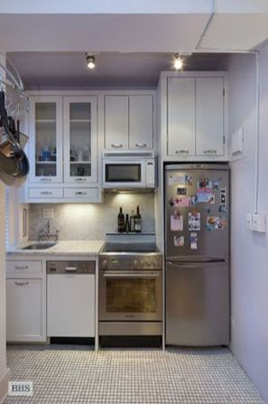 50 Ideas How to Make Small Kitchen for Apartment 13