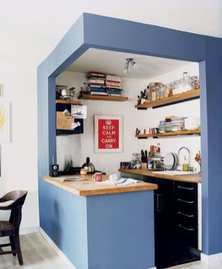 50 Ideas How to Make Small Kitchen for Apartment 22