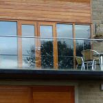 50 Incredible Glass Railing Design for Home Blacony 29