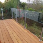 50 Incredible Glass Railing Design for Home Blacony 8