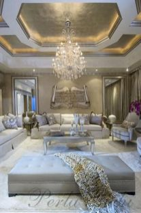 50 Magnificent Luxury Living Room Designs 47